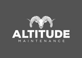 Altitude Maintenance Logo Design, Graphic Design & Web Design