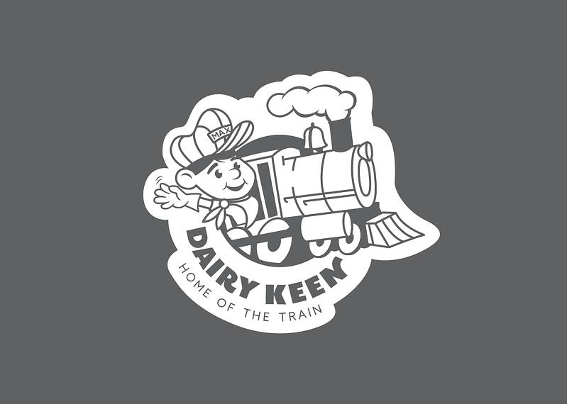 Dairy Keen Logo Design